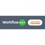 WorkflowMax Certified Partner Logo 500x500 WHITE