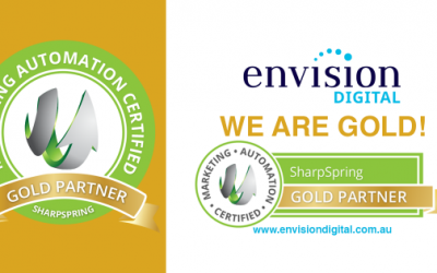 Envision Digital are now SharpSpring Gold Certified