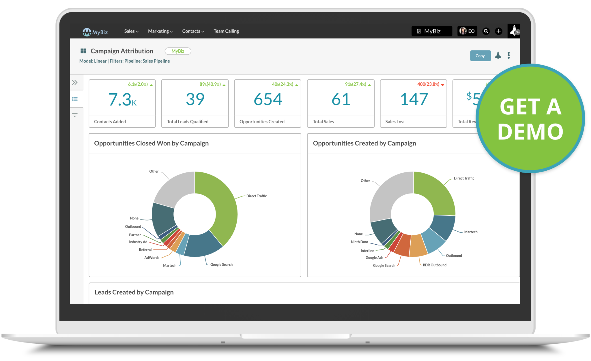 envision automation sharpspring demo